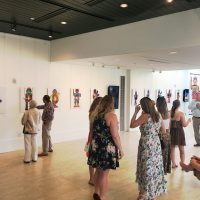 gallery reception